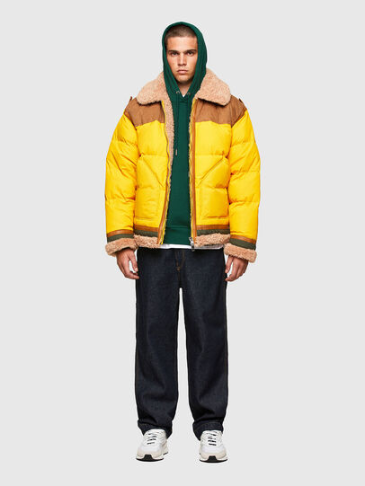 Diesel - W-EVAN-A, Yellow - Winter Jackets - Image 6