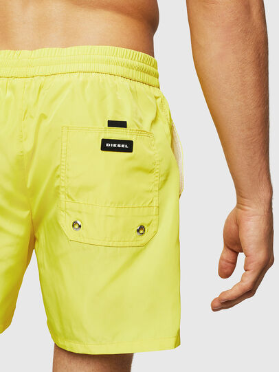 Diesel - BMBX-CAYBAY, Yellow - Swim shorts - Image 4