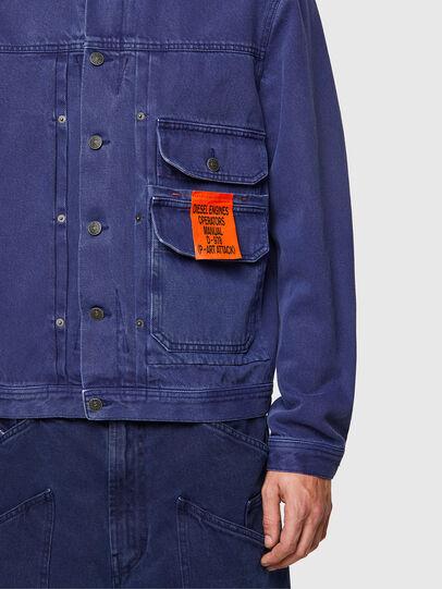 Diesel - D-SFERA-SP, Blue - Denim Jackets - Image 3