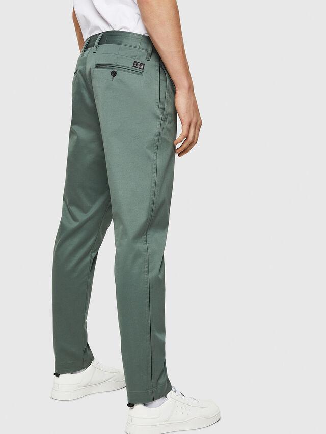 Diesel - P-MAD-ICHIRO, Green Melange - Pants - Image 2
