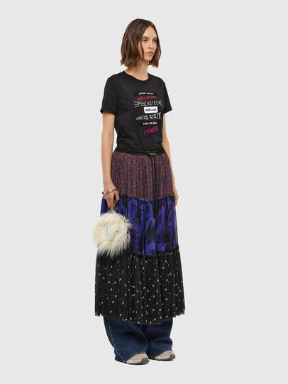 Diesel - O-ILARY, Blue/Black - Skirts - Image 4