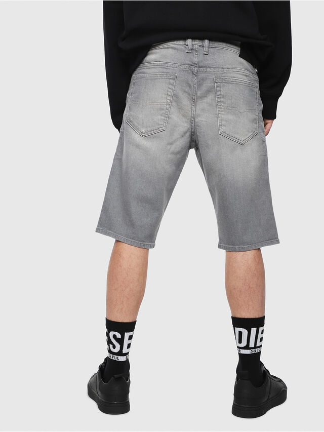 Diesel - THOSHORT, Grey Jeans - Shorts - Image 2
