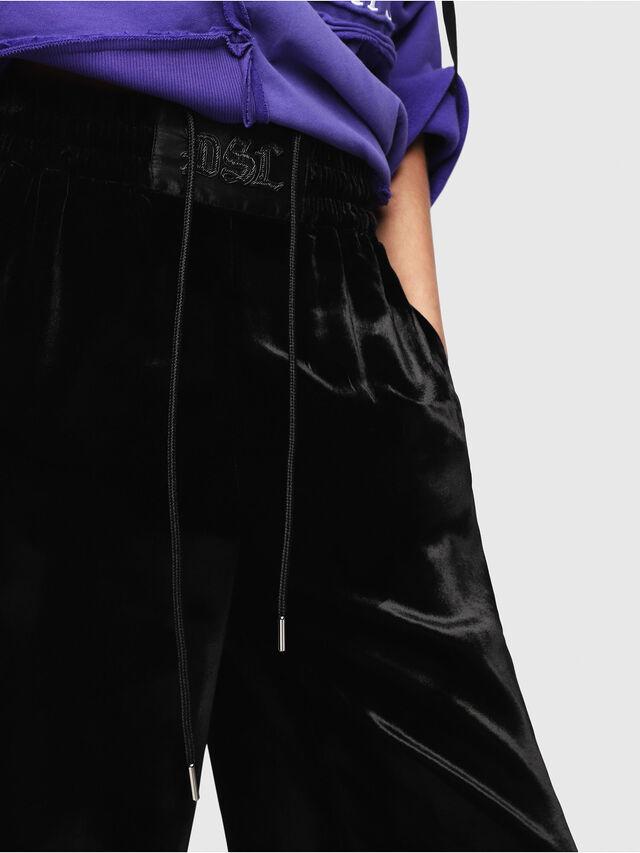Diesel - P-KARAL, Black/White - Pants - Image 3