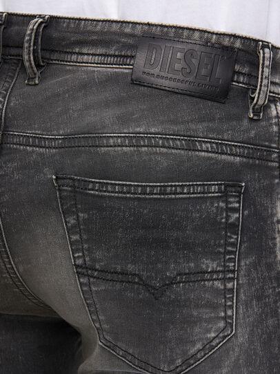 Diesel - Thommer JoggJeans 009KC, Black/Dark grey - Jeans - Image 4