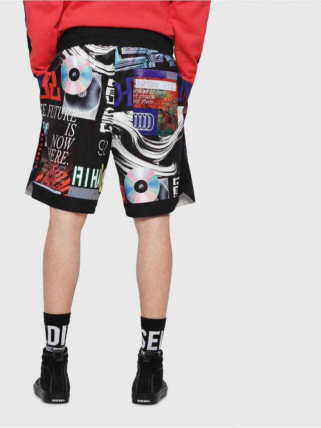 Diesel - P-KUMI-PRINT, Multicolor/Black - Shorts - Image 2