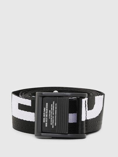 Diesel - B-MASER, Black/White - Belts - Image 1