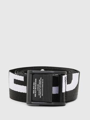 B-MASER, Black/White - Belts