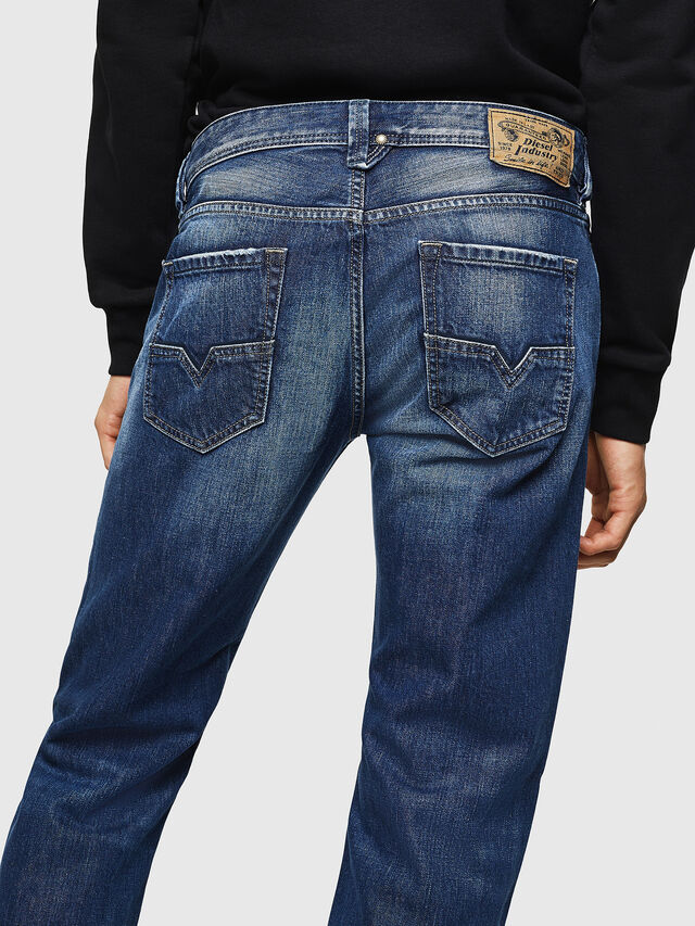 Diesel - Larkee 008XR, Medium blue - Jeans - Image 4