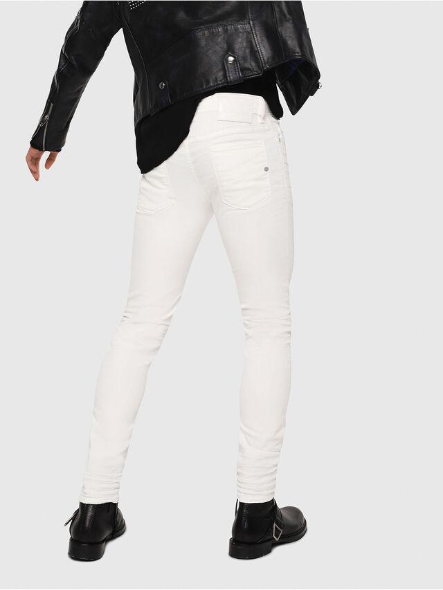 Diesel - Sleenker 084CY, White - Jeans - Image 2