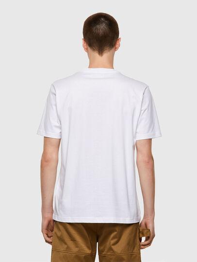 Diesel - T-JUST-B53, White - T-Shirts - Image 2
