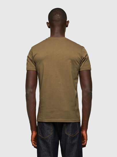 Diesel - T-DIEGOS-A2, Olive Green - T-Shirts - Image 2