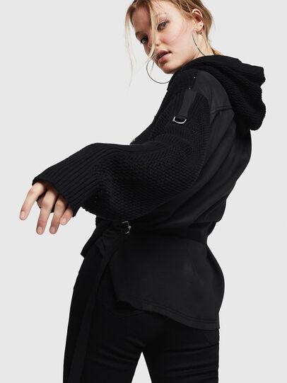 Diesel - M-MILY, Black - Knitwear - Image 4