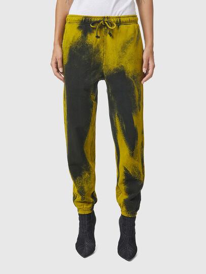 Diesel - P-CALTON-RIB-B1, Yellow/Green - Pants - Image 2