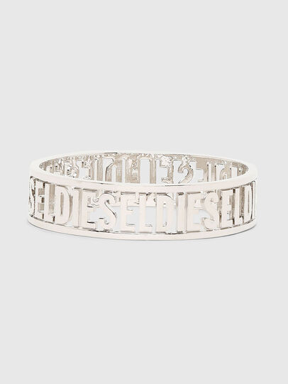Diesel - A-ALLOGO, Silver - Bijoux and Gadgets - Image 1