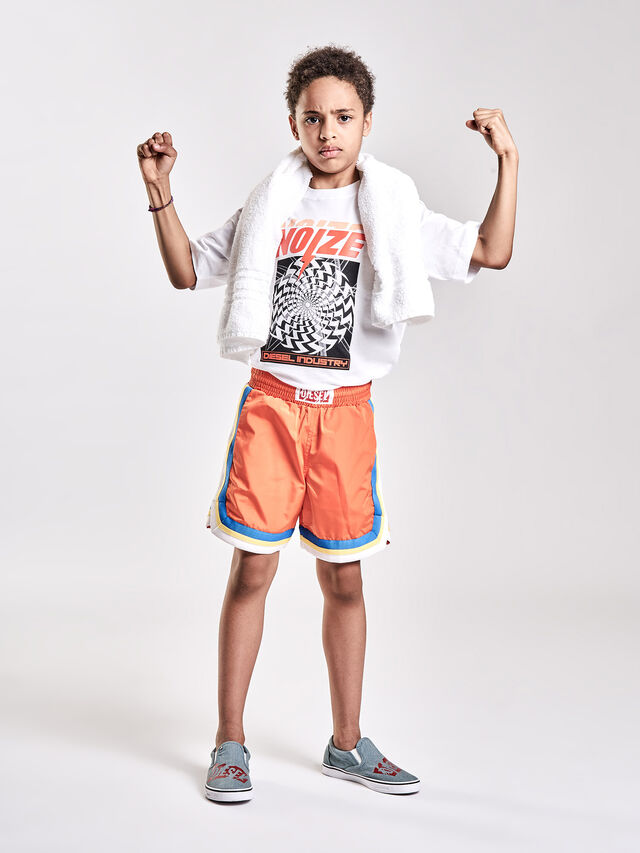 Diesel - PBOXER, Orange - Shorts - Image 4