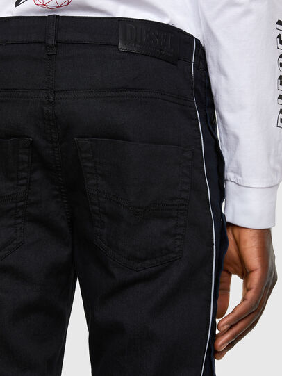 Diesel - Krooley JoggJeans 0KAYO, Black/Dark grey - Jeans - Image 5