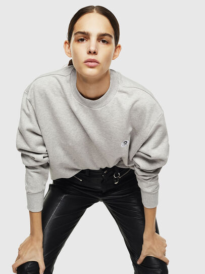 Diesel - S-LINK, Light Grey - Sweaters - Image 6