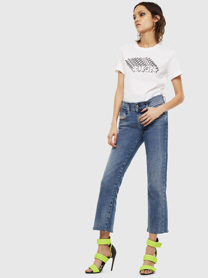 Diesel - T-SILY-S6, White - T-Shirts - Image 4