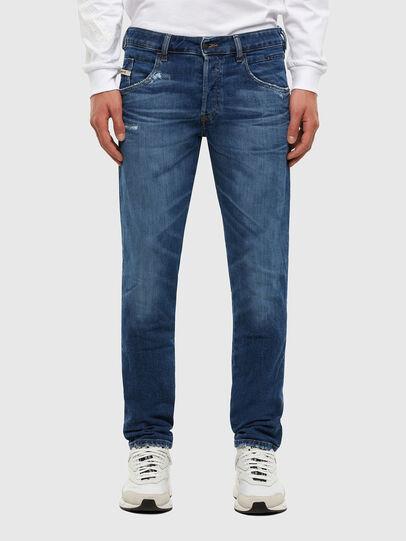 Diesel - D-Bazer 009DE, Dark Blue - Jeans - Image 1