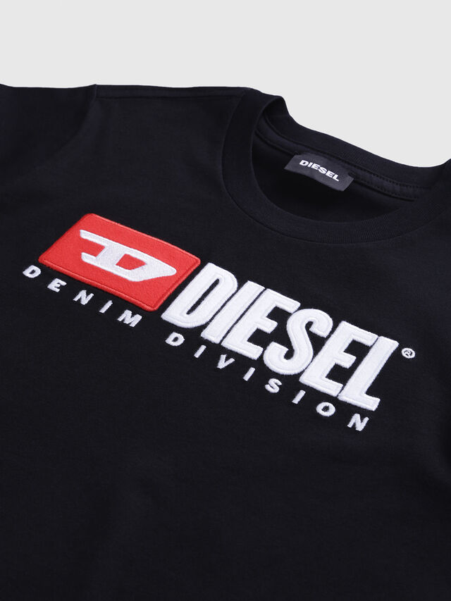 Diesel - TJUSTDIVISION, Black - T-shirts and Tops - Image 3