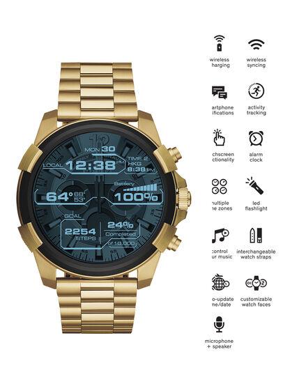 Diesel - DT2005, Gold - Smartwatches - Image 1