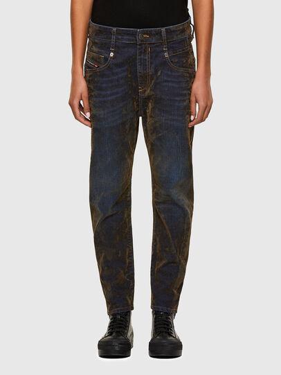 Diesel - Fayza 069RQ, Blue/Yellow - Jeans - Image 1