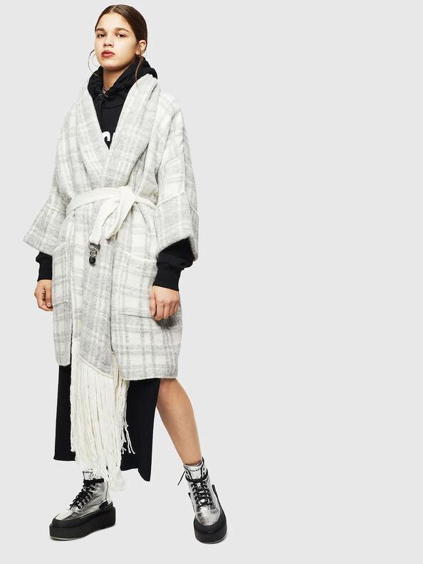 M-BOU, Grey/White - Knitwear
