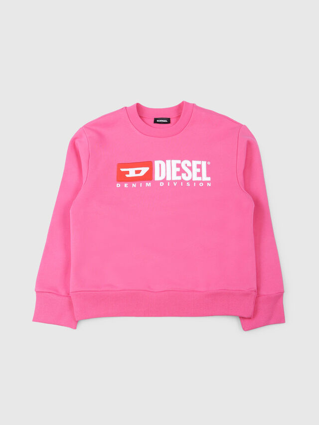 Diesel - SCREWDIVISION OVER, Hot pink - Sweaters - Image 1