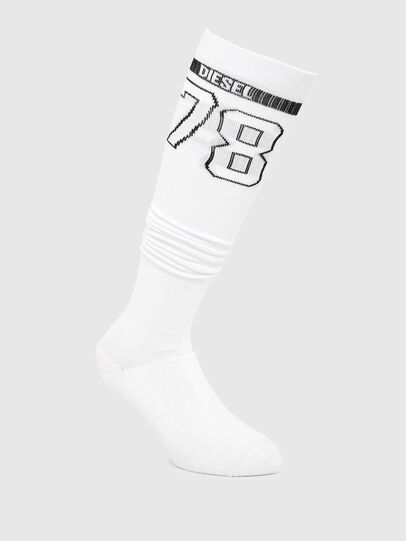 Diesel - SKF-PARISOCKS, White - Socks - Image 1