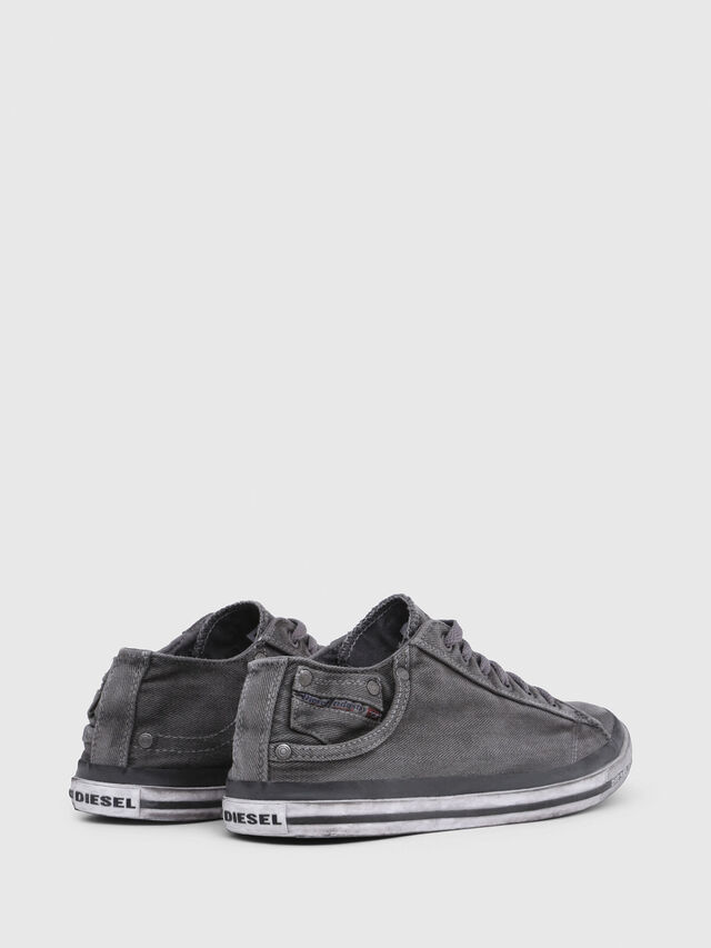 Diesel - EXPOSURE LOW I, Metal Grey - Sneakers - Image 3