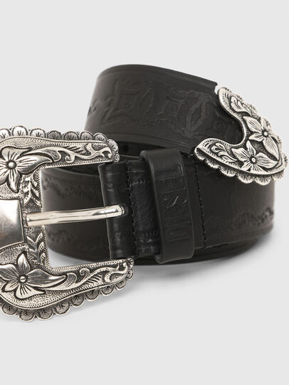 Diesel - B-WEST, Black - Belts - Image 2