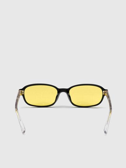Diesel - DL0326, Yellow - Sunglasses - Image 4