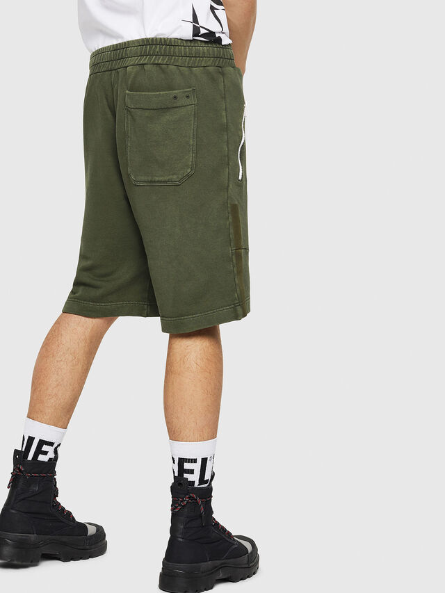 Diesel - P-BIRX, Dark Green - Shorts - Image 2