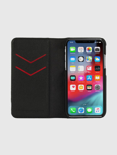 Diesel - DIESEL 2-IN-1 FOLIO CASE FOR IPHONE XS & IPHONE X, Grey - Flip covers - Image 6