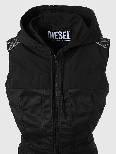 Diesel - D-JAYLEN JOGGJEANS, Black/Dark grey - Jumpsuits - Image 3