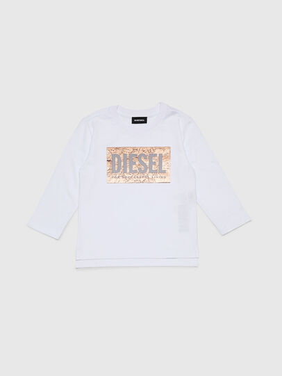 Diesel - TIRRIB-R, White - T-shirts and Tops - Image 1