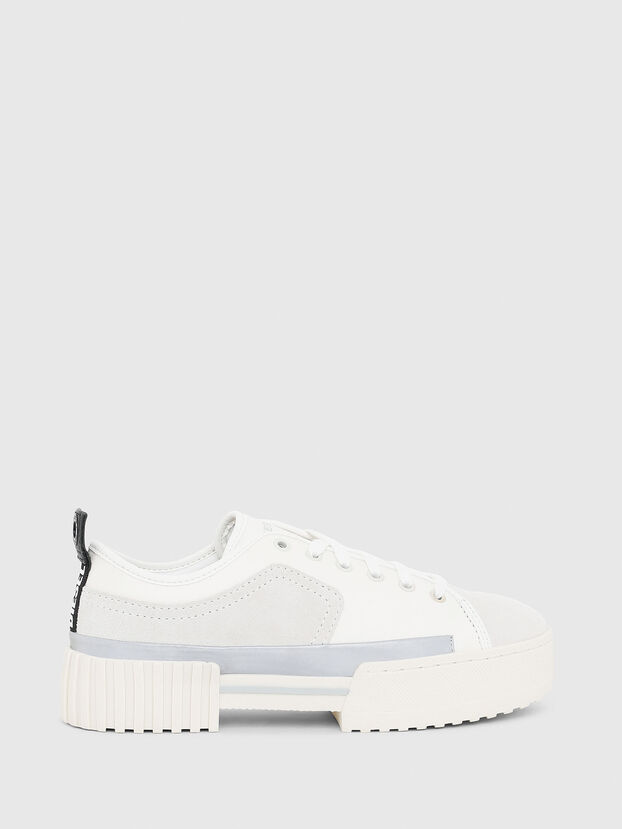 S-MERLEY LOW, White - Sneakers