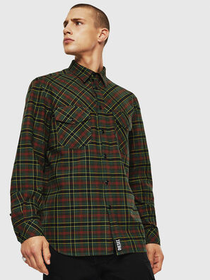 S-TOLSTOJ, Dark Green - Shirts
