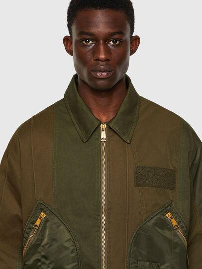 Diesel - J-BASTYAN, Olive Green - Jackets - Image 5