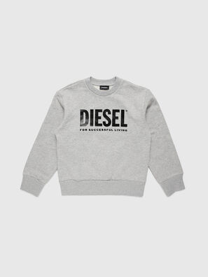 SCREWDIVISION-LOGO O, Grey - Sweaters