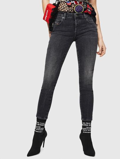 Diesel - Babhila 081AH, Black/Dark grey - Jeans - Image 1