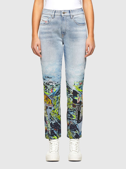 Diesel - D-Joy 009IZ, Light Blue - Jeans - Image 1