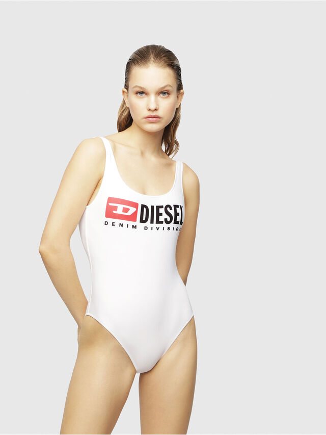 Diesel - BFSW-FLAMNEW, Bright White - Swimsuits - Image 1