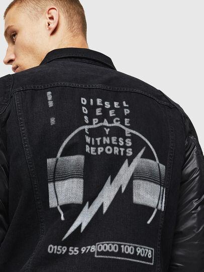 Diesel - D-BLIT,  - Denim Jackets - Image 5