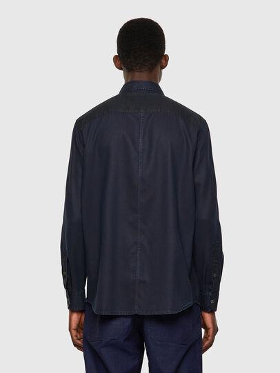 Diesel - D-MILLY-SP1, Dark Blue - Denim Shirts - Image 2