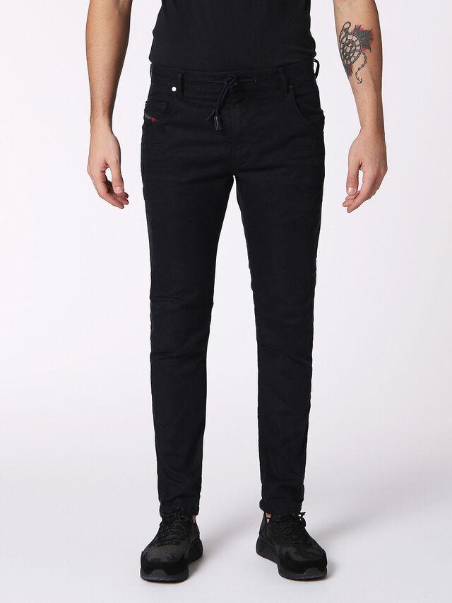 KROOLEY CB-R JOGGJEANS 0689C, Black Jeans