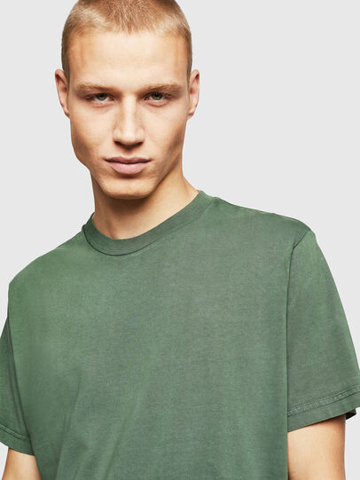 Diesel - T-THURE, Green - T-Shirts - Image 4