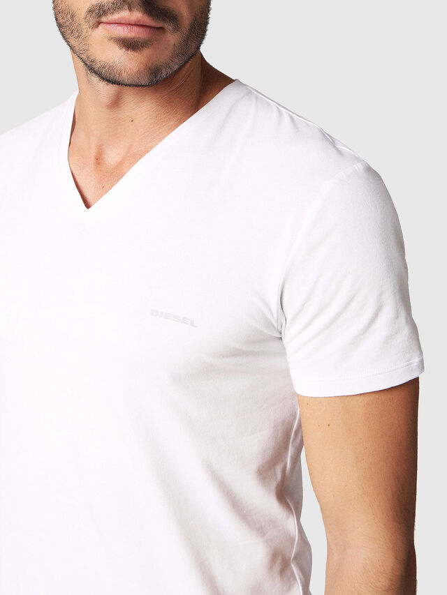 Diesel UMTEE-MICHAEL2PACK, White - Tops - Image 4