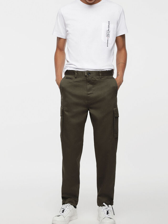 Diesel - P-MADOX-CARGO, Military Green - Pants - Image 1