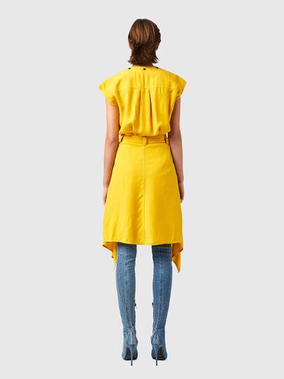 Diesel - D-GIUDITTA, Yellow - Dresses - Image 2